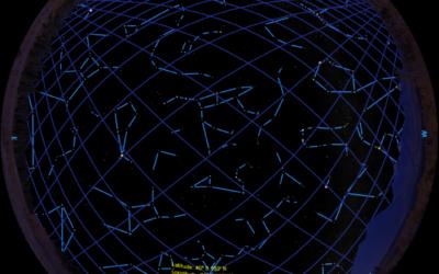 Simulating Starlink Satellite Constellation in SciDome
