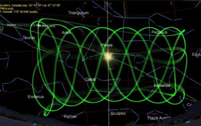 Venus and the Pleiades April 3