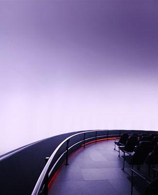 NanoSeam dome at Adler Planetarium