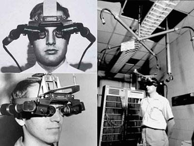 "E&S ""Sword of Damocles"" virtual reality prototype"
